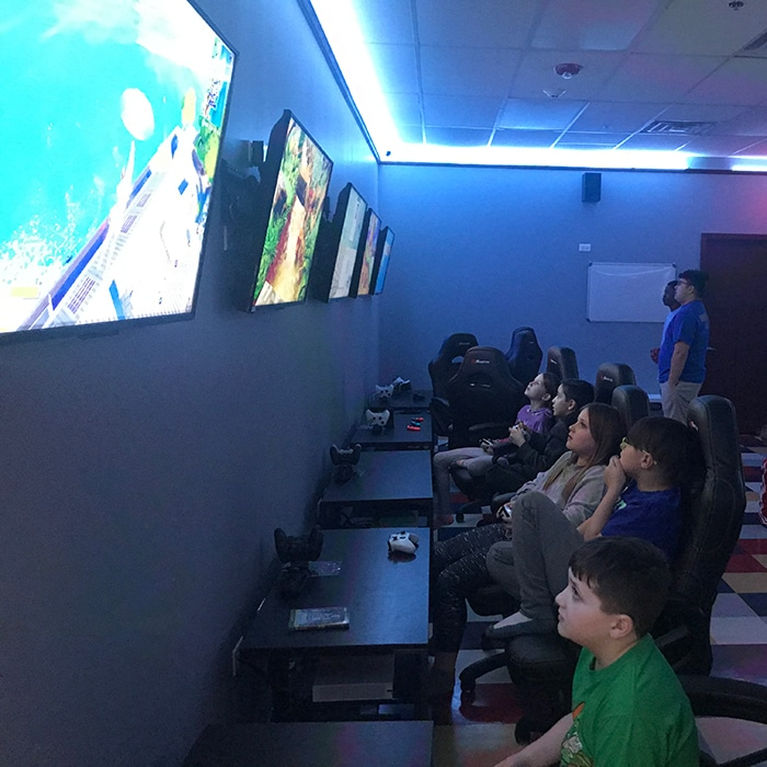 The A's Club Gaming Room