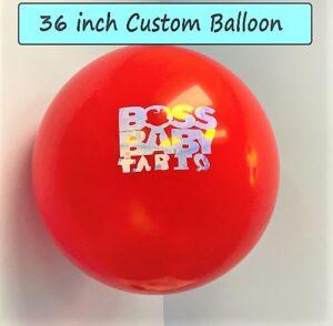 36 Inch Custom Balloon