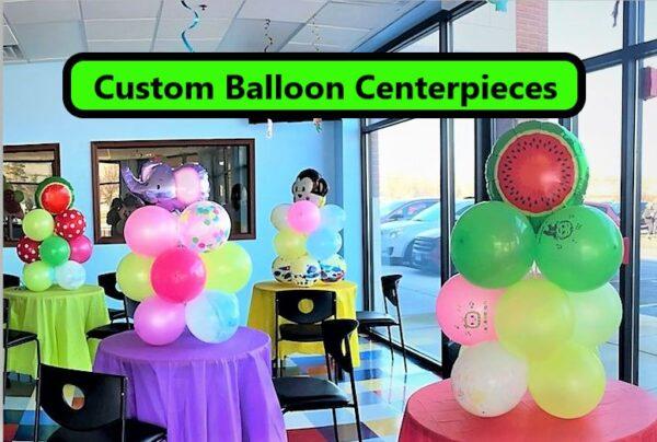 Custom Balloon Centerpieces
