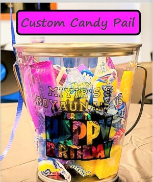 Custom Candy Pail