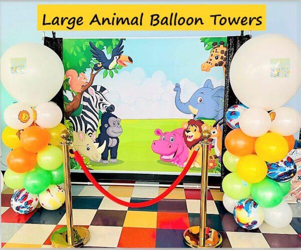 Large Animal Balloon Towers