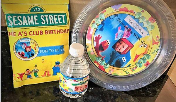Custom Sesame Street Set
