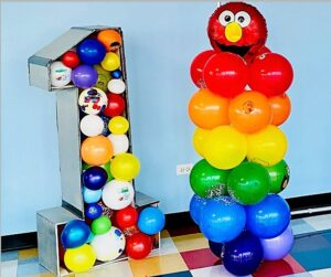Elmo Number 1 Balloon Set
